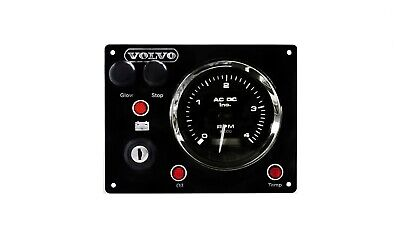Boat Volvo Diesel Engine Instrument Panel #Fully Wired #Ready to Install #USA md