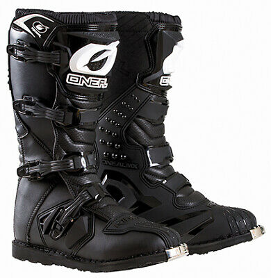 O'Neal 2018 Youth Riders Boot Black Size 4
