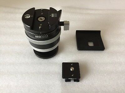 Arca-Swiss Monoball PO and Slidefix Quick Release (plate kit included for DSLR)