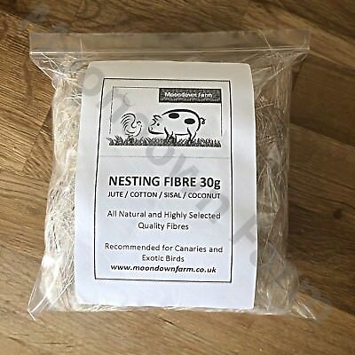 Canary Nesting Material Finch Budgie etc Nest Material & Hamsters 50g