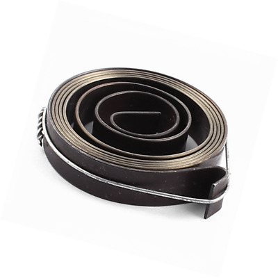 uxcell 37mmx8mm Metal Drill Press Quill Feed Return Coil Spring Assembly