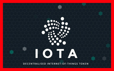 1,000,000 IOTA Crypto Coins 1Mi (1MILLION IOTA)
