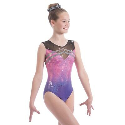 """BNWT Milano Illusions Gymnastic Leotard 30"""" not in stock for Xmas"""