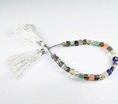 """6"""" Best Quality multi cut stone 6-7Mm Mix Box Faceted  Beads"""