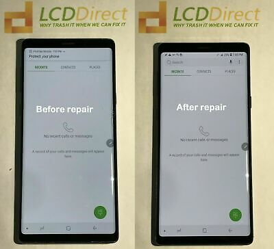 Samsung Galaxy Note 8 N950U N950F N950FD cracked Screen repair mail in service