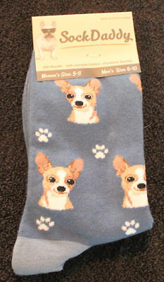 Chihuahua Tan Dog Breed Lightweight Stretch Cotton Adult Socks