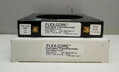 FLEX-CORE CURRENT TRANSFORMER FCL1000//5-6 FCL100056 SEE PIC #2 FOR SPECS NEW