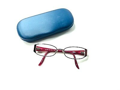 CHELSEA MORGAN CM912 Eyeglasses FRAMES ONLY Brown 52[]16 135 ...