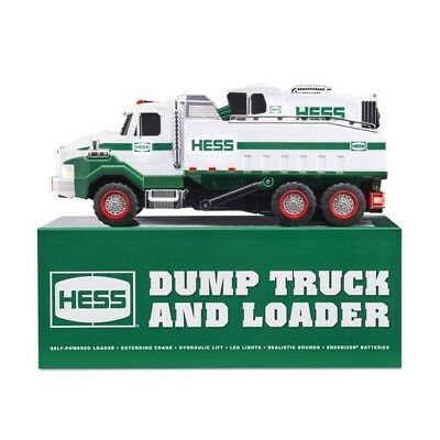 2017 HESS Dump Truck AND Loader.  Brand New In Box!!