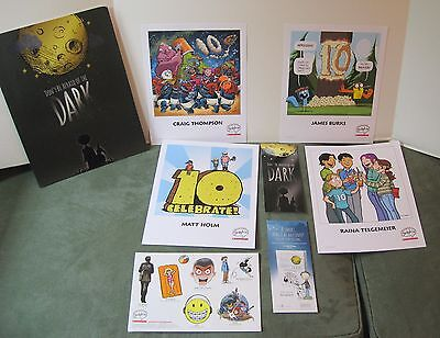 Don't Be Afraid of the Dark Comic Book Promo Folder with Artist Prints
