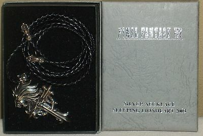 Final Fantasy Ⅷ 8 Squall Lionhart Silver Necklace Square Enix 2003 Official Rare