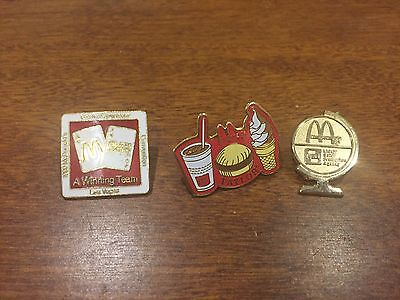 McDonalds OWNERS PINS   THESE ARE RARE * *ONLY GIVEN ONLY TO OWNERS**