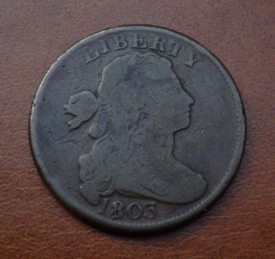 1803 Draped Bust Large Cent, Vg  ~  Price Reduced!