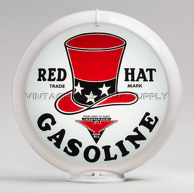 """Red Hat 13.5"""" Gas Pump Globe (G246.1) FREE SHIPPING - U.S. Only"""