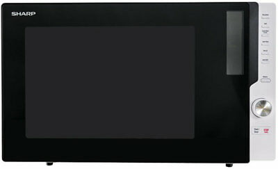 NEW Sharp R820EBK Convection Microwave Oven 900W