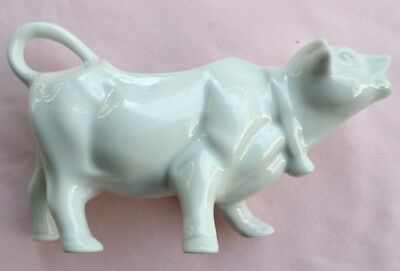 Funky, Ceramic or Porcelain Cow Shaped Creamer. Dairy / Farm