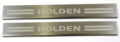 GENUINE Holden VE VF Commodore UTE Front Door Sill Scuff Plates PAIR SS SSV SV6