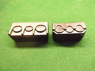 Two Heavy Duty Quarter, Dime Nickle Spring Loaded Change Holders