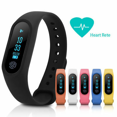 M2 Smart Wristband Bluetooth Watch Heart Rate Fitness Sleep Monitor as Mi Band 2