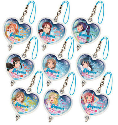 Love Live Sunshine Water Strap Ver.Koi Ni Naritai AQUARIUM You Mari Riko Dia...