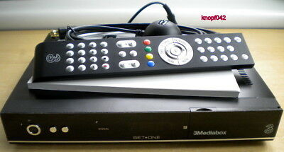 3 Mediabox Twin HD Satreceiver leicht defekt