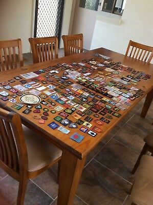259 Scout Badges/Patches...Some Used,Many Mint...Trash and Treasure