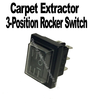 Carpet Cleaner 3-Position Rocker Switch ON OFF ON