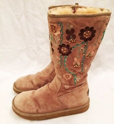 Boots Shoes Womens Size 8 UGG Tall Boots Shoes F3006H Ugg Australia Cosita Boots