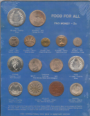 Rare-1971-73 Foa Money #2A-15 Proof World Coins-Limited Edition Of *3,000 Issued