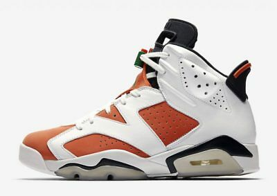 6b3449ef970ad1 Nike Air Jordan Retro 6 VI Gatorade Be Like Mike 384664 145 White Green  Orange