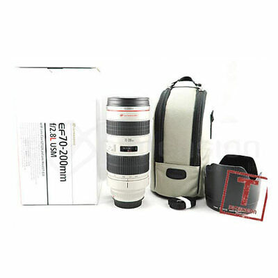 Canon EF 70-200mm f/2.8 L USM Lens+Gift+5YrsWty gft Ship From EU