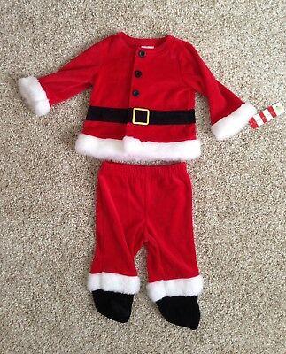 NWT! Baby Santa Suit Clothing 3-6 months