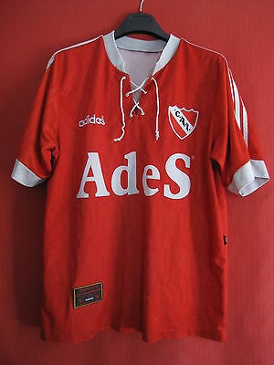 Football jersey Club Atletico Independiente Shirt year 1996 old vintage - L