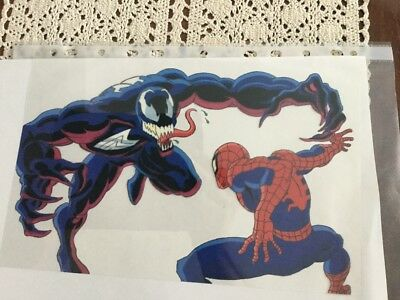Spiderman film clear Cell rare