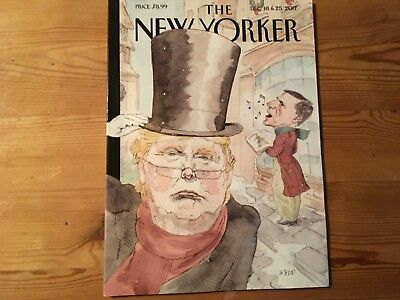 New Yorker magazine December 18 and 25th 2017 issue.