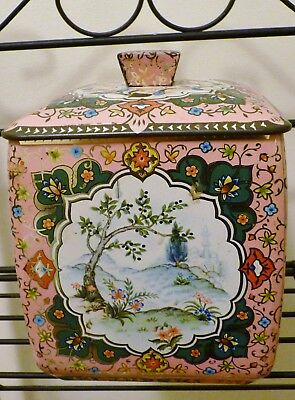 Vintage Biscuit Tin Made in England