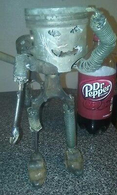 piston pete Piston fleet metal auto part sculpture folk art wounded warrior