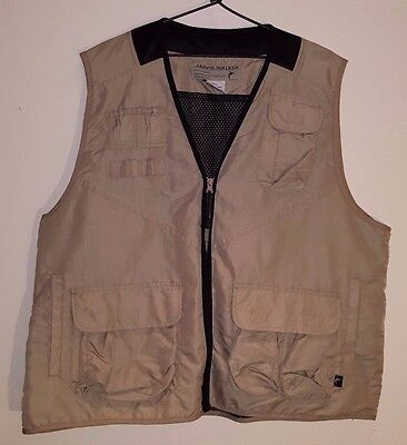 Jarvis Walker Fishing Vest Size XL - Chest 105cm / Waist 95cm - VGC