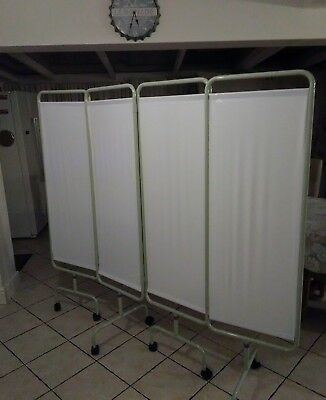 Medical Privacy Screen - 4 Panel