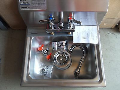 ADVANCE TABCO 7-PS-55 Hand Sink with Eye Wash - New