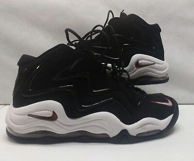 classic fit 5af1b a7593 Nike 325001-061 Air Pippen Black White Red Retro Basketball DS Size 10.5 (15