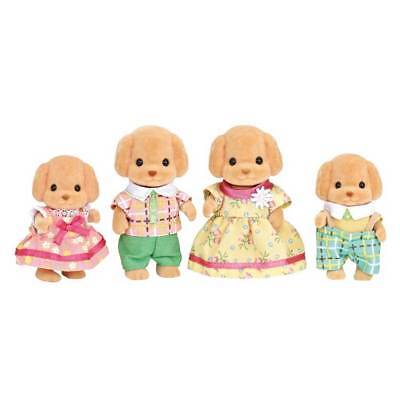 Sylvanian Families Famiglia Barboncini-Toy Poodle Family 5259