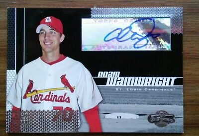 Adam Wainwright 2006 Topps Co Signers Authentic Autograph #108 Auto