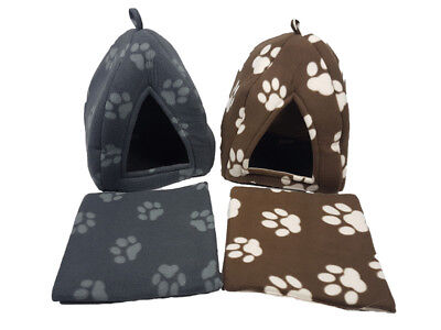 New Luxury Pet House Igloo Warm Insulated Padded Cosy Cave Bed house Dog Cat Kit