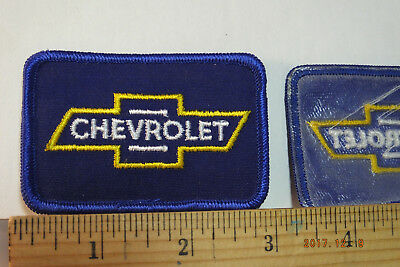 """Chevrolet Chevy #1  Iron-On Embroidered Patch 4/"""" tall"""