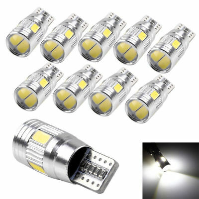 10x T10 501 194 W5W 5630 LED SMD Car HID Canbus Error Free Wedge Light Bulb Lamp