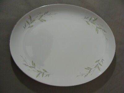 "St. Regis Fine China Oval 12"" X 9"" Platter In The #101 Pattern, Japan"