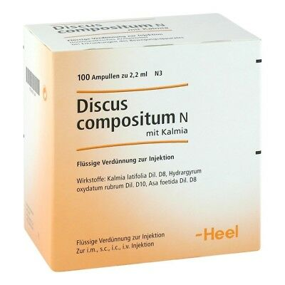 HEEL Discus Compositum N Mit Kalmia 100 Amps Homeopathic Remedies