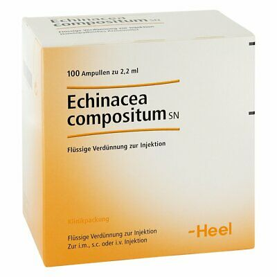 HEEL Echinacea Compositum 100 Amps Homeopathic Remedies