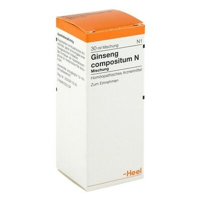 HEEL Ginseng Compositum  (ONLY)   30ml Homeopathic Remedies
